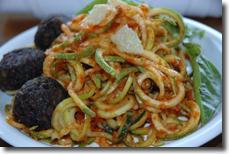 Seed Zucchini Pasta