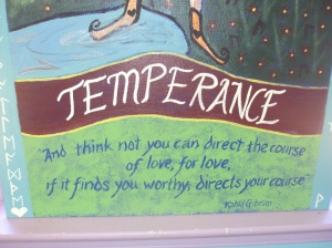 Temperance Quote by Kahlil Gibran
