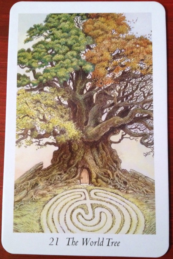 The World Tree Card from the Wildwood Tarot