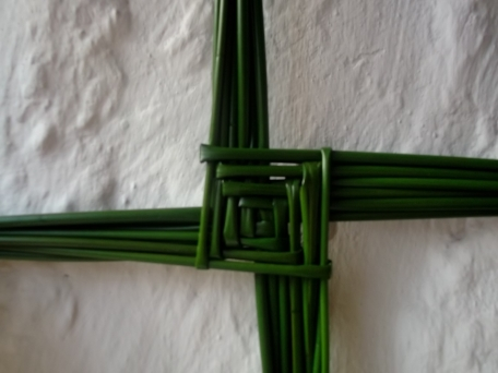 Brigid's Cross from permaculturecottage.wordpress.com