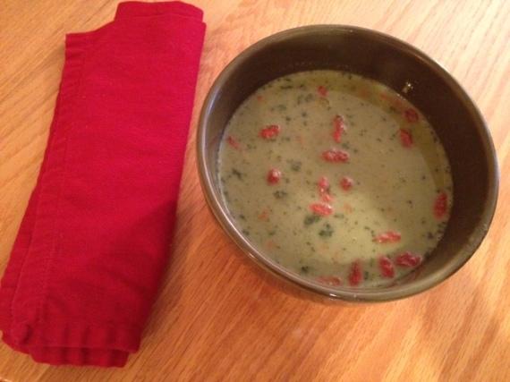 Goji soup