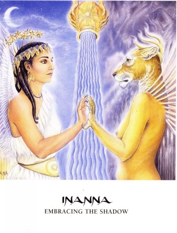 Inanna Goddess Oracle Card, Amy Sophia Marashinsky and Hrana Janto (illustrator)