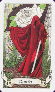 Death Card from the highly recommended Robin Wood Tarot: http://www.robinwood.com/Catalog/Books/BookPages/RWTDeck.html