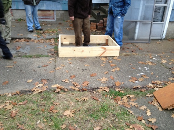 cold frame workshop
