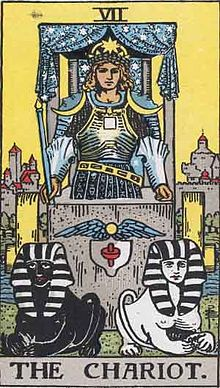 Rider-Waite-Smith deck, Chariot card