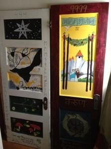 Door Number 17 (After), next to Door Number 4, by Laura Bruno