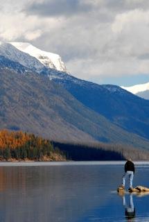 McDonald Lake in Glacier Park
