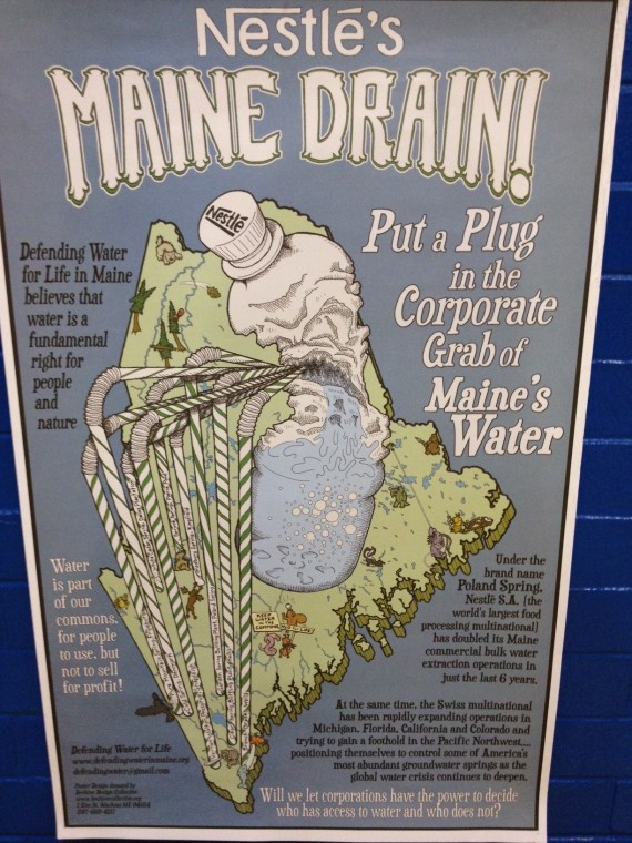 Nestle Maine Water