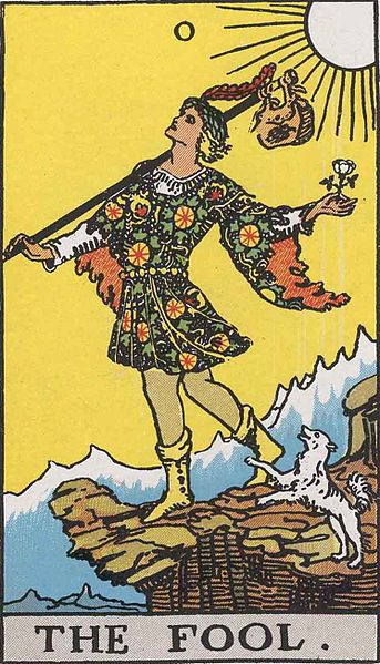 Rider-Waite-Smith deck, the Fool