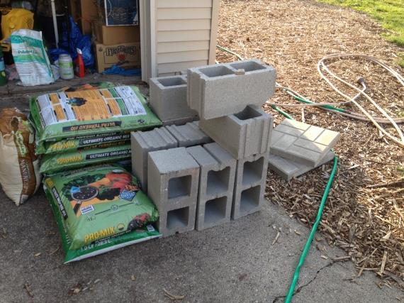 More compost and concrete