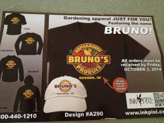 Bruno's produce