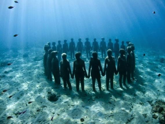 underwater sculpture grenada