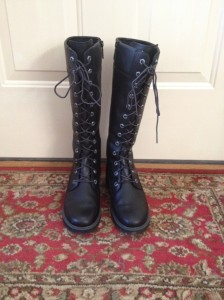 Leprechaun cobbled boots