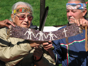 William Commanda (1913-2011), Algonquin Elder and Chief. Image: International Cities of Peace.