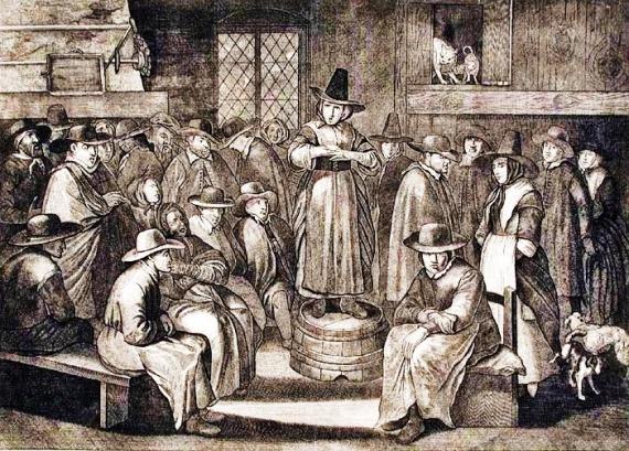 woman-preacher-early-quaker-meeting