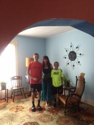 Aunt Laura and nephews