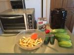 falafel squash fries and pickles tobe