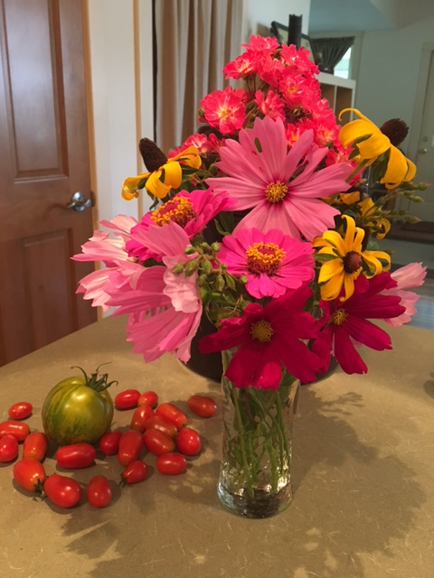 late August bouquet